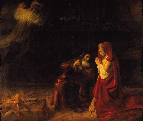 Das Opfer des Manoah