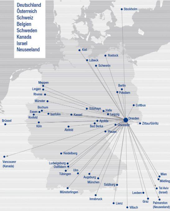 118 Autoren aus acht Ländern